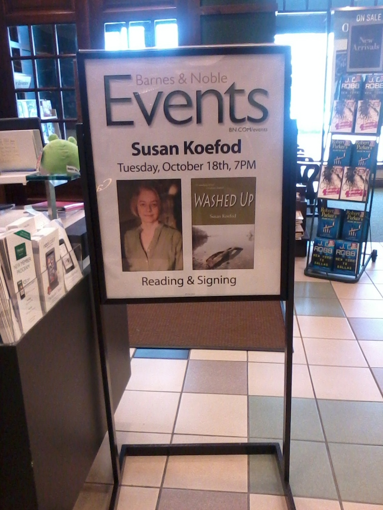 Upcoming Author Appearances: Washed Up